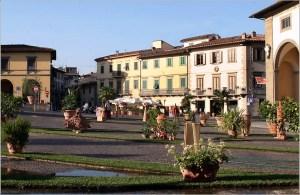Piazza Buondelmonti (Impruneta).