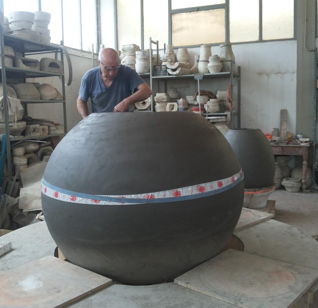 Giuseppe Parisi and the dolium