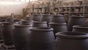 giare nella fornace Artenova