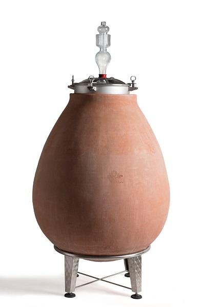 Ridotto Giara uovop con supporto in acciaio (1)